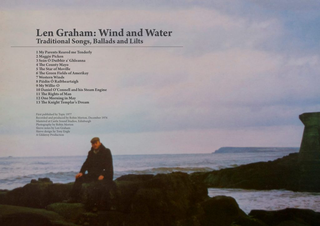 Len Graham – Wind and Water booklet cover