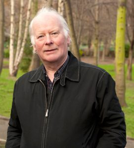 Folk singer and song collector Len Graham - photo by Stephanie Joy