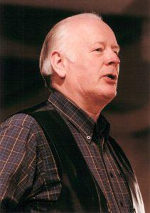 Irish Folk singer Len Graham