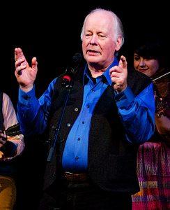 Irish singer Len Graham